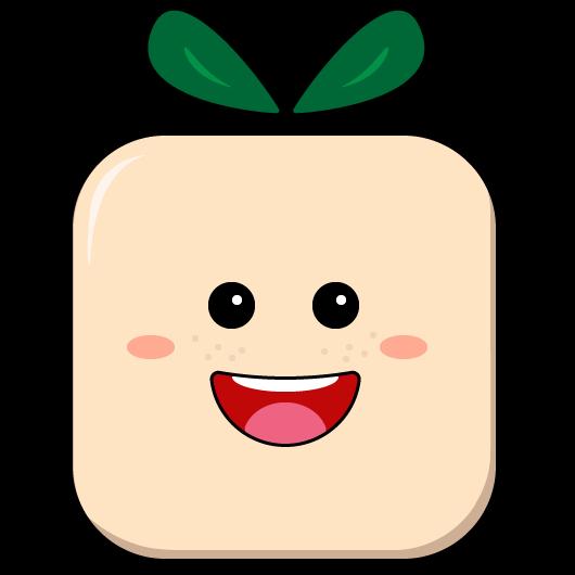 The Lucky Tofu Logo Tofu